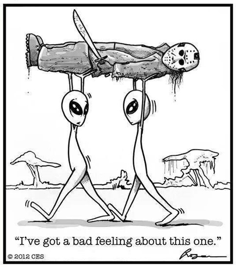 Alien abduction–I gotta bad feeling about this one