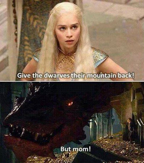 Give the dwarves their mountain back