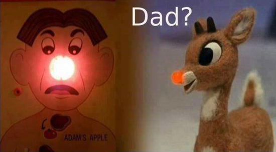 The scandal–Rudolph discovers his real dad