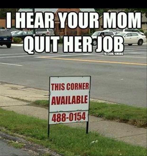 Mom quit her job?  Here's a suggestion.