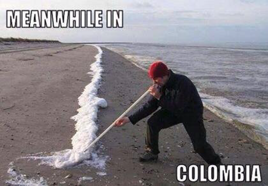 Meanwhile in Colombia…
