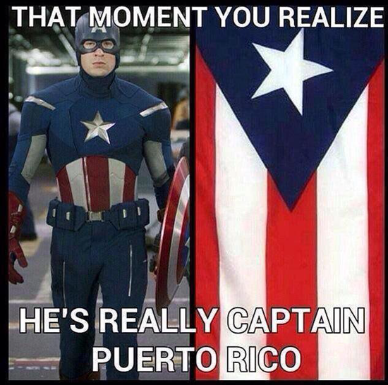 Captain America - that moment you realize...