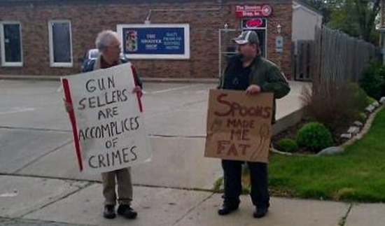 Guns don't kill people but spoons just might