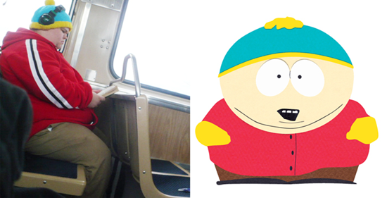 Real life bus driver from South Park