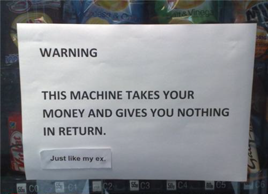 Warning: it takes your money and gives you nothing in return