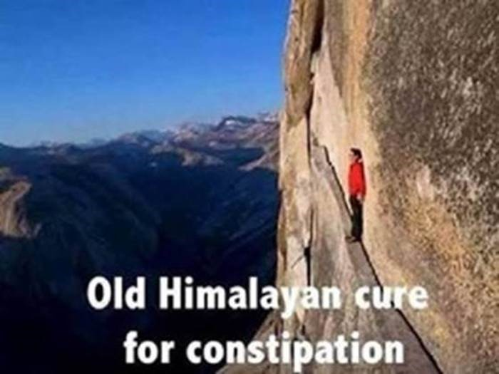 Funny - cure for constipation